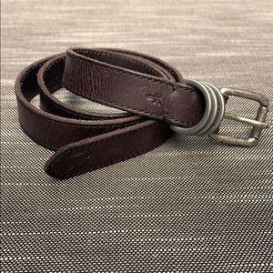 "Frye 1"" leather belt size M - like new"